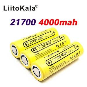 Image 3 - LiitoKala Lii 40A 21700 4000Mah Ni Pin 3.7V 40A 3.7V 30A Điện 5C Tỷ Lệ Xả