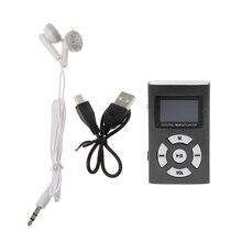 цена на Mini USB Aluminum LCD Screen 32GB Micro SD TF Card Digital Music MP3 Player - L060 New hot