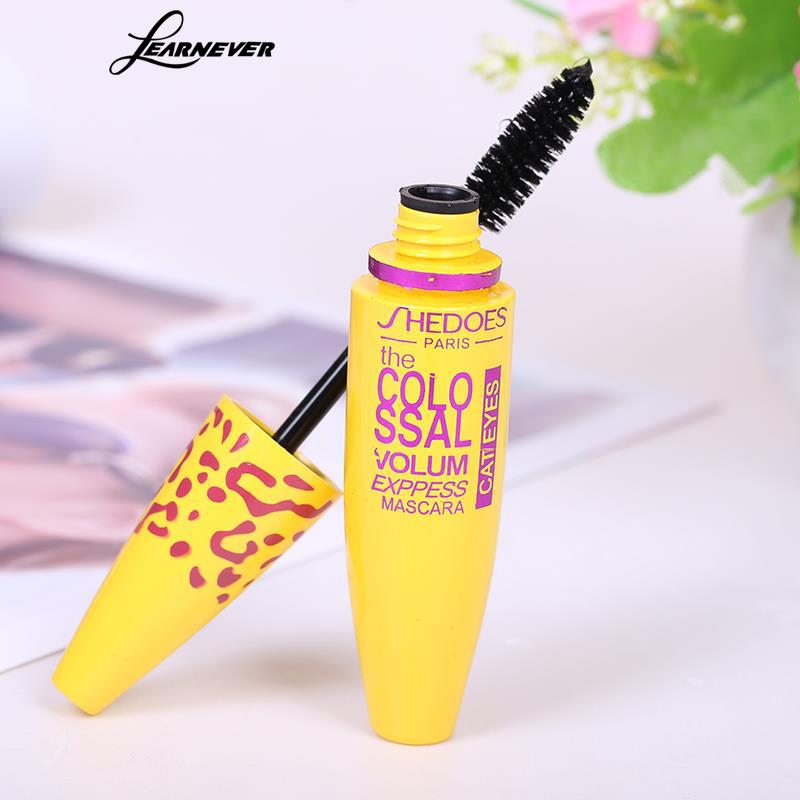 Image 5 - 1pc Makeup Mascara Eyes 3D Fiber Lashes Volume Cosmetic Makeup Extension Length Long Curling Black 3D Mascara Eye Lashes Tools-in Mascara from Beauty & Health