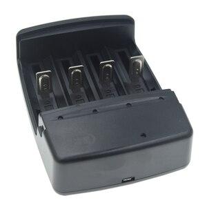 Image 4 - 2020 Mới Sạc Pin Có Đèn LED Báo Sạc Nhanh Cho 1.6V Một AA AAA Pin AAAA C D SC Pin NI ZN Sạc EU/Mỹ Cắm