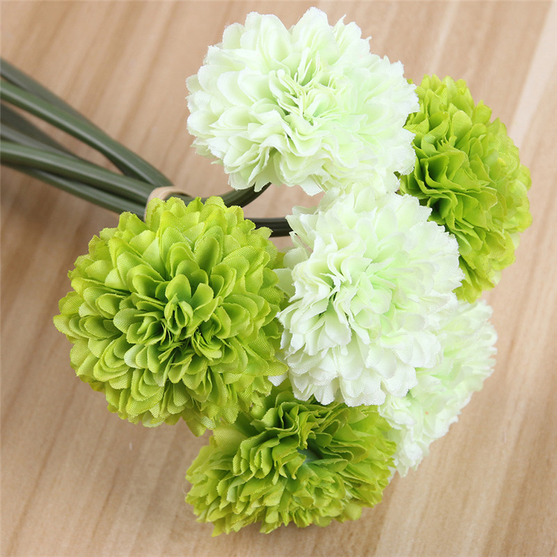 6heads artificial chrysanthemum artificial flower silk flower fake 6heads artificial chrysanthemum artificial flower silk flower fake plant for wedding home party decoration flower bouquet in artificial dried flowers from mightylinksfo