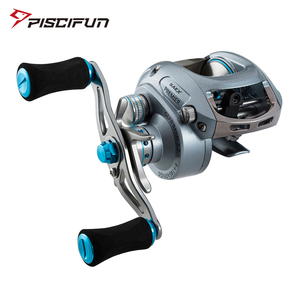 Piscifun Saex Premier Right or Left Baitcasting Reel 7BB 6 5 1 179g Super Light Bait