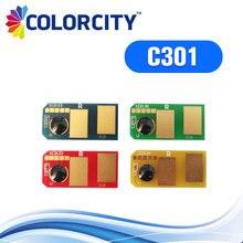 1 компл. совместимый тонер чип c301dn для oki 44973536 44973535 44973534 44973533 C301 C301DN C321 C321DN MC342dn принтера