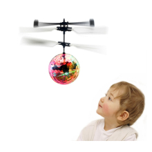 New Electronic Toys RC Flying Ball Helicopter UFO Ball With Music Altitude Induced Magic Ball Aircraft Colorful As ChristmasGift