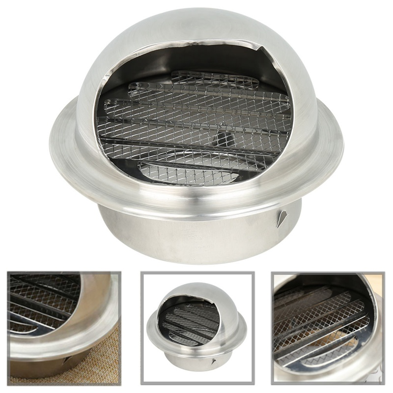 High Quality Stainless Steel Wall Air Vent  Bathroom Extractor Outlet Grille