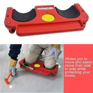 Protection-Pad Wheel Multi-Functional-Tool Rolling-Knee Built-In-Foam with Padded Laying