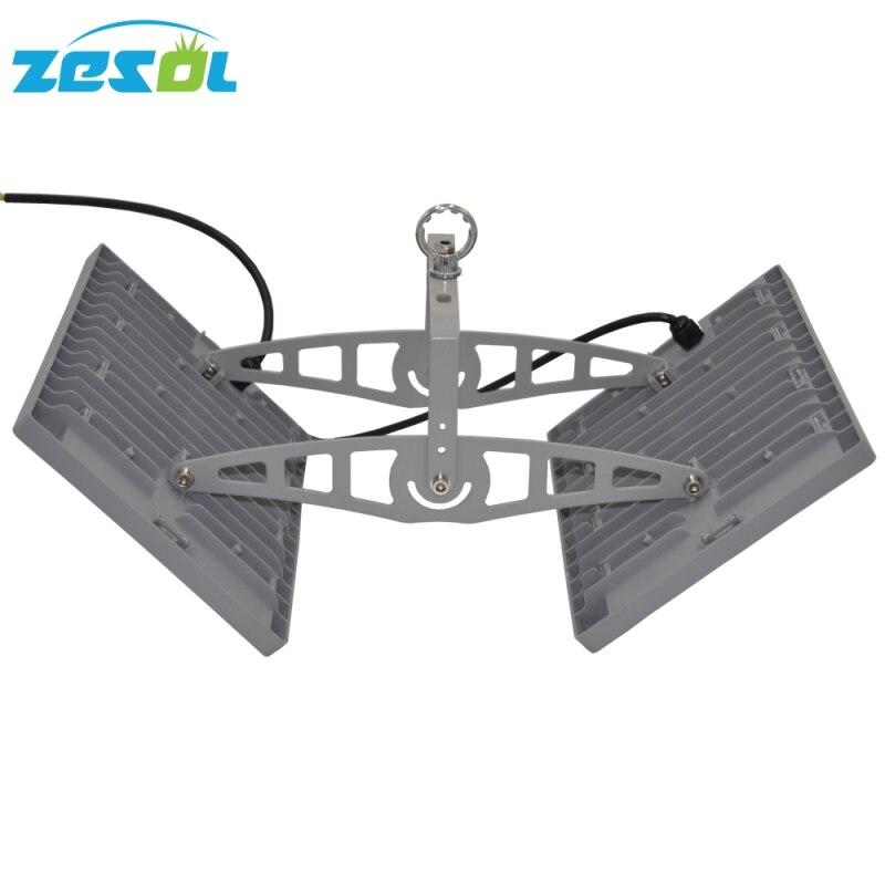 ZESOL100w LED Floodlight High Bay Light 110v 220v Udendørs Spotlights Udvendig Belysning Lys Retning Justerbar