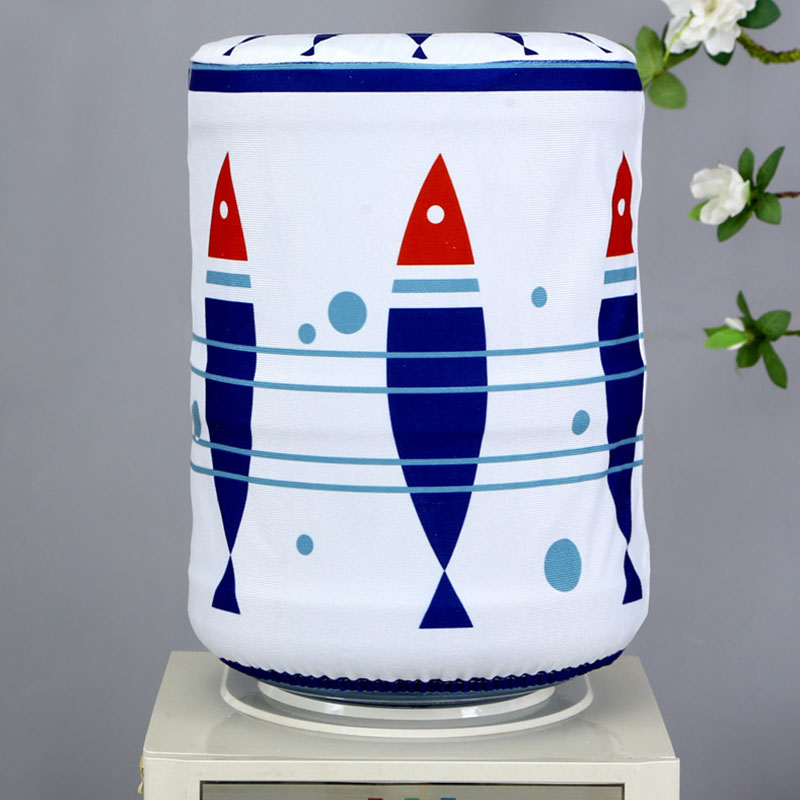 Fabrics Drinking Fountain Decor Bucket Purifier Tools Water Dispenser Home Accessories Dust Cover  24*38CM 1 PCS