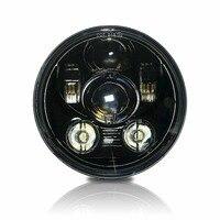 LED 5.75 5 3/4 Motorcycle Projector Light Bulb Headlight Headlamp DOT H4467 for harley
