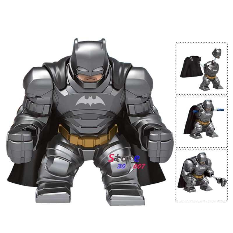 Satu Besar Ukuran Besar Avengers Infinity War Super Hero Batman Thanos Iron Man Action Bangunan Blok Mainan untuk Anak-anak