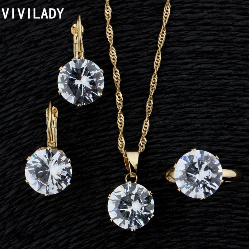 VIVILADY Fashion Wedding Jewelrs