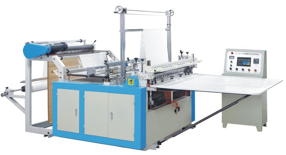 Bag making machine Cold hot sealing and cutting machine Vest bag bag making machine PE bag making machine