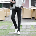 DEE MOONLY New 2017 Hot sale men pants fashion casual pants men new design high quality cotton mens pants 7 colors size 28~36