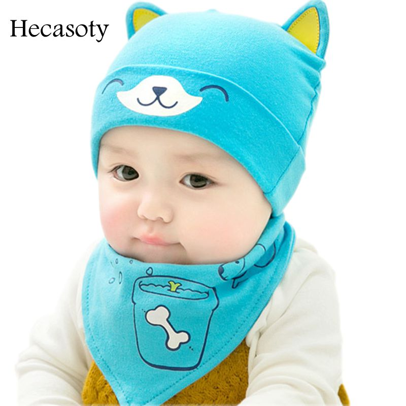 1-3 Year 100% Cotton Solid Color Rabbit Ear Stripes Baby Hat Retail And Wholesale Boys Girls Kids Infant Caps Child Baby Hats Boys' Baby Clothing Hats & Caps