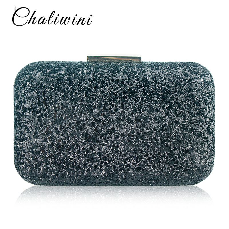 Chaliwini Evening bag Women Clutch bags Crystal Day Wallet Wedding Purse Party Banquet Bag