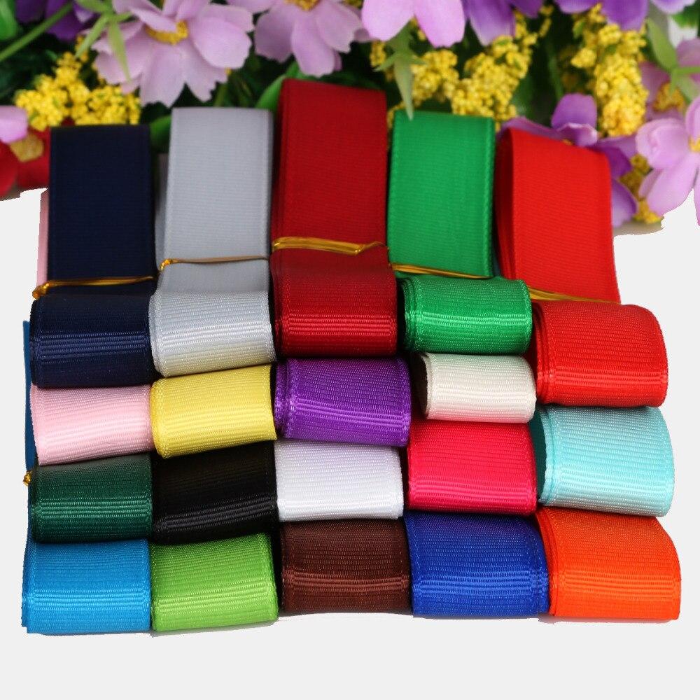 Ruban 32mm gris décoration couture satin soie hair bow cadeau emballage