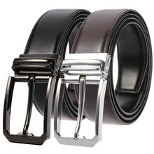 2019 Genuine Leather Belt for Men Luxury Designer Pin Buckle Belts New Fashion Strap for Male Jeans Good Quality Men Belt 2018 new large size genuine leather men belts fashion long male designers high quality 140cm 150cm 160cm jeans pin buckle belt