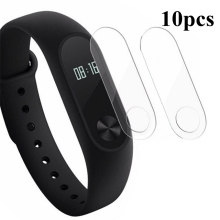 10pcs/lot For Xiaomi Mi Band 2 Band2 Screen Protector Miband2 Mi band 2 HD Ultra Thin Anti-scratch Protective Film Guard