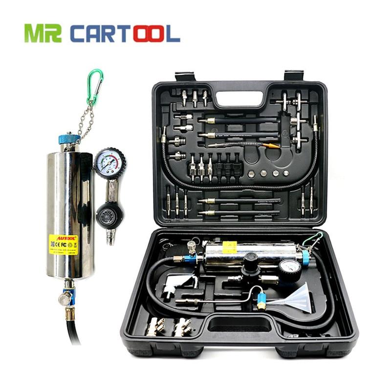 AUTOOL C100 автомобиля топлива Injectore Cleaner номера демонтаж бутылки бензин Авто топлива инжектор очистки и тестирования Системы