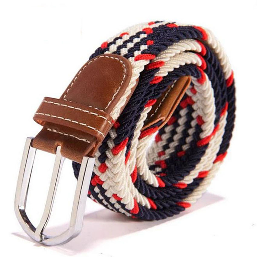 new 39 -color stretch woven elastic belts