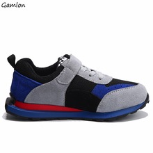 gamlon new arrival children's genuine leather shoes kids new arrival running shoes boys comfortable sneakers girls casual shoes