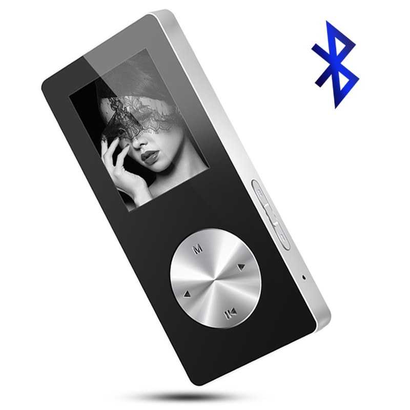 Best selling Bluetooth MP4 player TFT 1.8 inch support recording E-book FM radio 4/8/16GB built-in memory Walkman video player image
