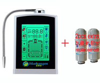 8touch screen kangen water ionizer/alkaline water/micro clustered water(JapanTech,Taiwan factrybuilt in filter+2pc extra filter