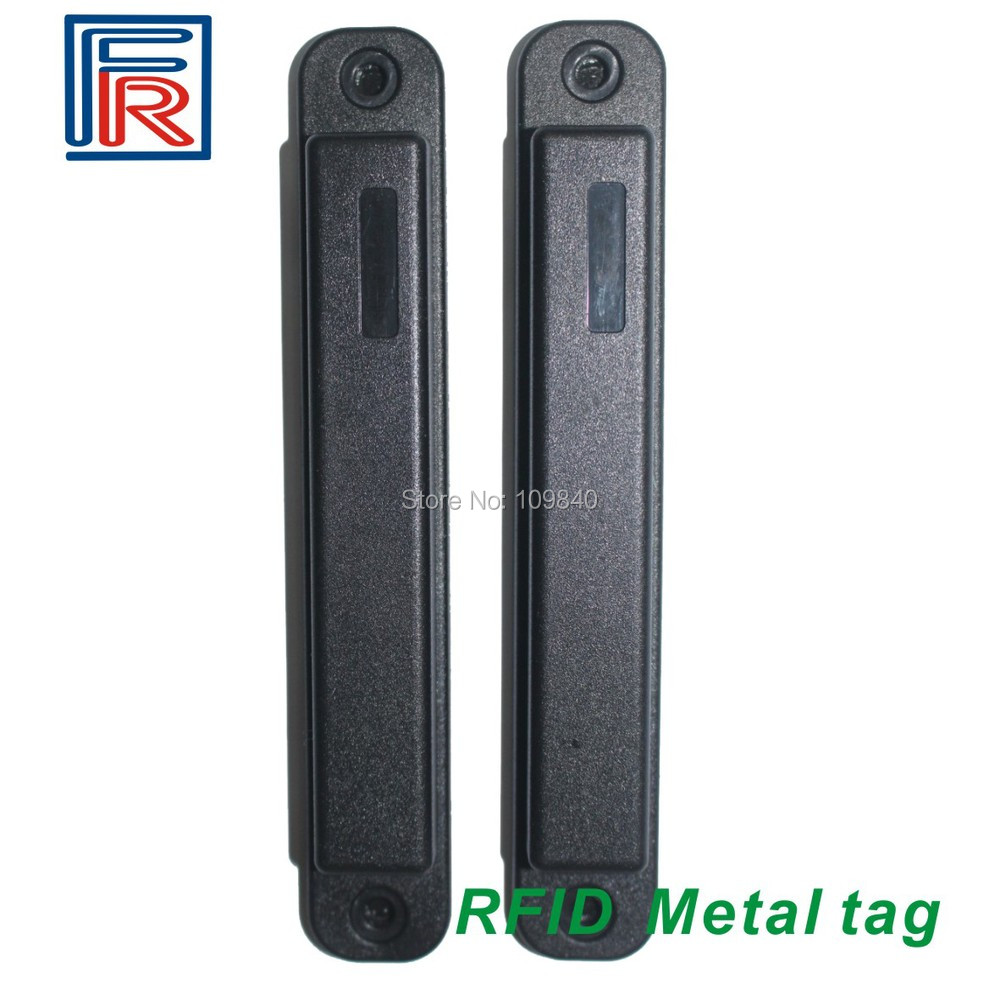 Hot 915MHZ long range Anti-metal RFID UHF Tag with sticker and screw hole for access control 10pcs/lot rfid tire patch tag label long range surface adhesive paste rubber alien h3 uhf tire tag for vehicle access control