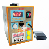 New upgrade LED lighting 788H double pulse precision 18650 Spot Welder Battery Welder +battery Fixture+USB output