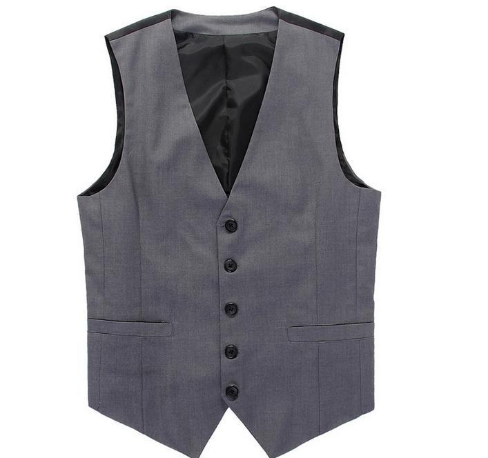 763f153da6d New British style Men s Fashion Joker Trend Waistcoat Leisure Suit ...