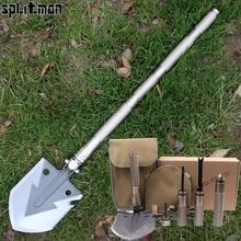 Multi Camping Shovels Survival Tool Multifunctional Folding Chinese Military Shovels EDC Hunting Fishing Utility Shovel Spade