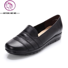 Big size 34-42 new arrival women flats genuine leather shoes female flat casual shoes women spring and  fall shoes women's shoes