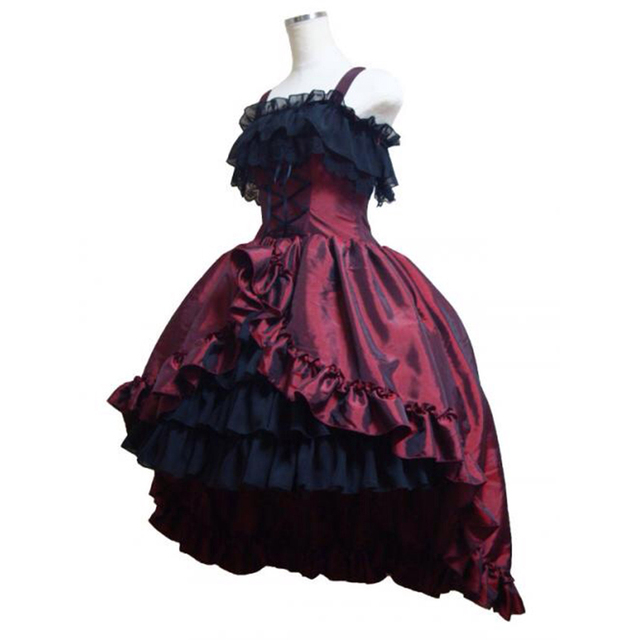 18th Century 3 Colors Gothic Victorian Party Dress Retro Stage show ...