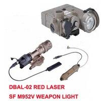 Доставка SF; сезон осень зима M952V Охота фонарик ИК лазерной светодиодный фонарик факел DBAL D2 Softair двойной Управление переключатель тактическо