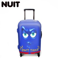 Waterproof Elastic Luggage Cover Animal Trolley Case Travel Accessories Supplies Organizer Suitcase Student Kid Protect Dust Bag