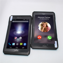 Venta! 7 pulgadas Glavey MTK6582 Quad core Android 4.4 Doble tarjeta SIM ranuras 3G phone call Tablet PC 1 + 8 GB NFC Bluetooth WiFi Phablet