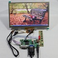 "DVI VGA LCD controller board 10.2"" HSD100IFW1 CLAA102NA0ACW 1024x600 Multi-touch"