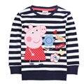 Moda 2-6 T crianças casacos, Tudo para As crianças roupas e acessórios blusas camiseta, marca Safira azul BRANCO menina camiseta enfant