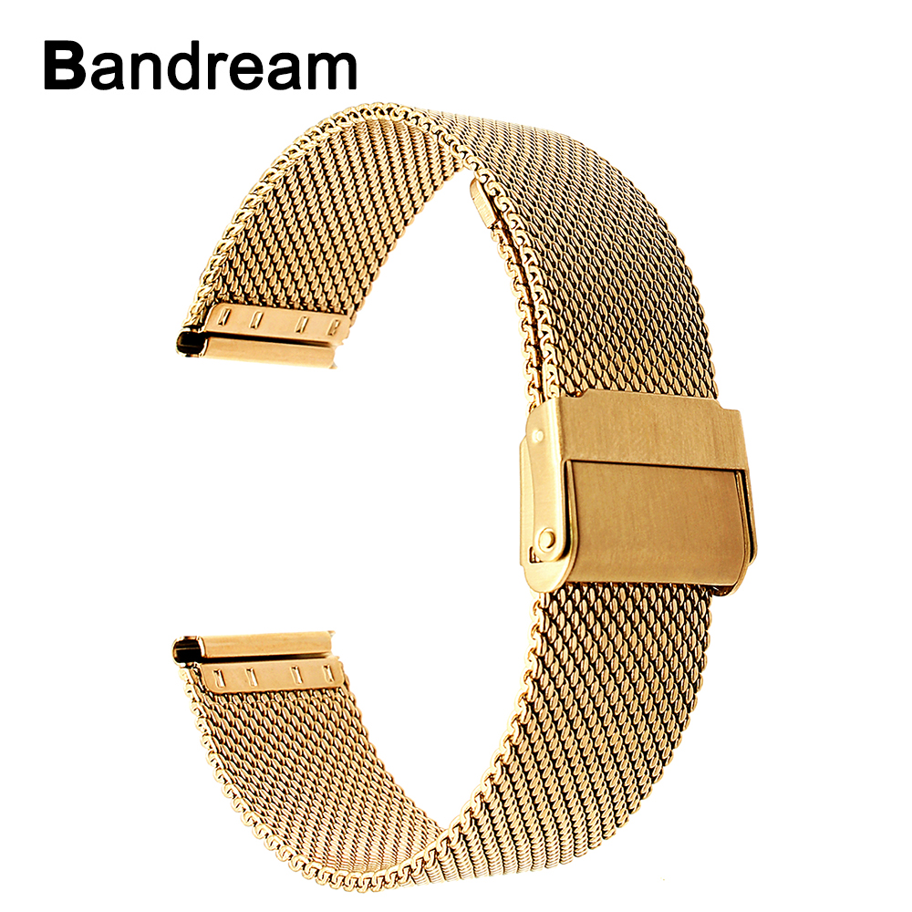 Milanese Watchband 14mm 18mm 20mm +Tool for DW Daniel Wellington Men Women Watch Band Woven Stainless Steel Strap Wrist Bracelet
