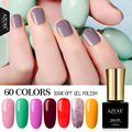 AZURE BEAUTY Gel Nail Paint Yellow Pink Color Gel Polish Nail Varnish Manicure 7ml Enamel Gel UV Soak Off Azure Nail Gel Polish