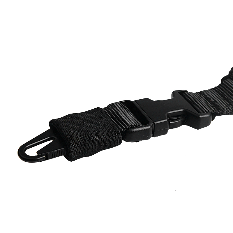 1000D-Heavy-Duty-Tactical-One-1-Single-Point-Sling-Adjustable-Bungee-Rifle-Gun-Sling-Strap-for-Airsoft-Hunting-Military RL30-1  (13)