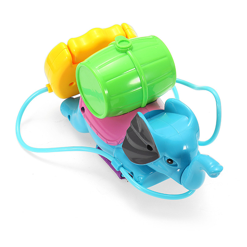 Summer Shower Toys Elephant Pattern Bath Pump Water Spraying Toys Baby Beach Toys Swimming Pool Water Gifts For Kids Childern