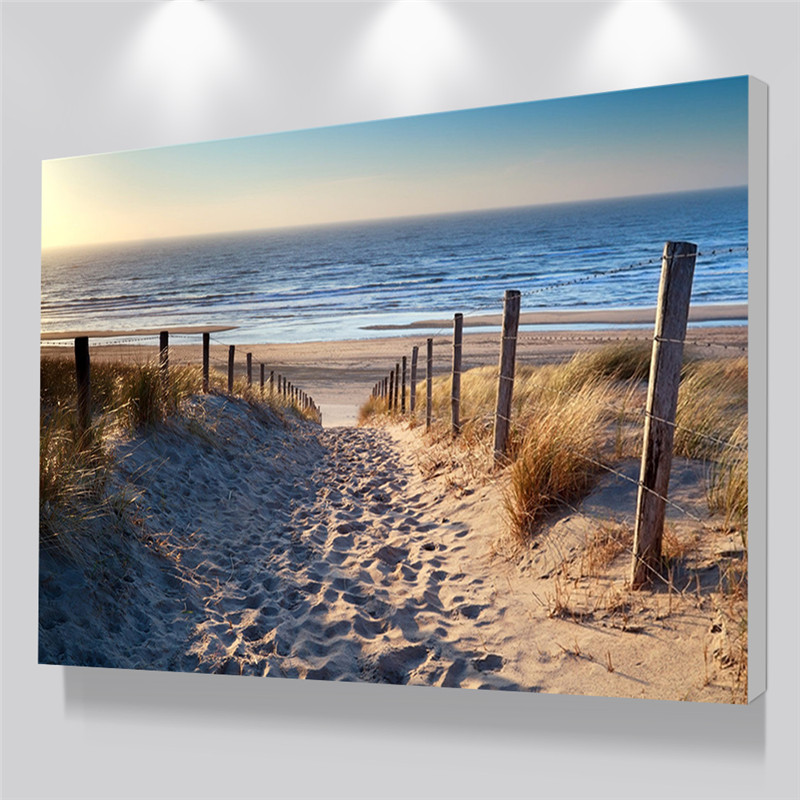 Poster And Prints On Canvas Art Painting Wall Picture For Living Room Modern Landscape Custom Photo Printing No Frame
