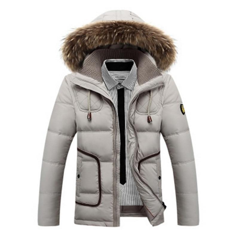 2017 New Winter Down Coat Men Duck Down Jacket Men Jacket Plus Size XXXL Outerwear Parkas