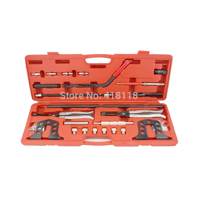 купить Pro Cylinder Head Service Set Valve Spring Compressor Removal Installer Kit по цене 4691.83 рублей