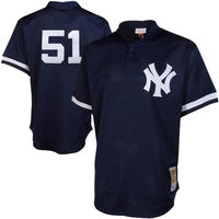 MLB Men S New York Yankees Mariano Rivera Don Mattingly Bernie Williams Jersey