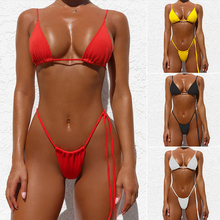 High cut push up Brazilian swimsuit