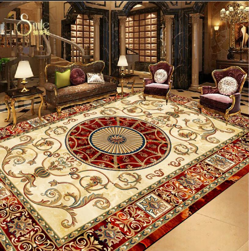 Aliexpress Com Buy European Style 3d Floor Tiles Mural: Popular Designer Vinyl Flooring-Buy Cheap Designer Vinyl