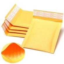 卸売100ピース/ロットメーカークラフトバブルバッグクラフトバブルメーラークッション封筒紙郵送袋11 × 13センチ