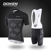 DONEN  Summer Quick-Dry Cycling Jersey Sets Women MTB Bike Cycling Clothing Breathable Mountian Bicycle Clothes Ropa Ciclismo цены